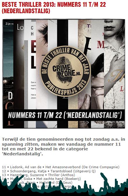 2013-10-23 Crimezone Beste 2013