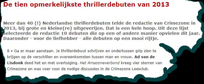 2013-12-17 CrimeZone Opmerkelijk
