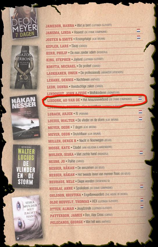 CrimeZone Magazine Longlist